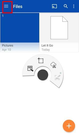 stream_photos_and_videos_on_OneDrive_to_Chromecast_1_app_ui
