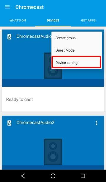 How to use Chromecast Audio multi-room group playback: 10_group_play_delay_settings