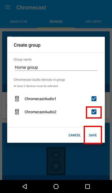 How to use Chromecast Audio multi-room group playback: 3_group_created