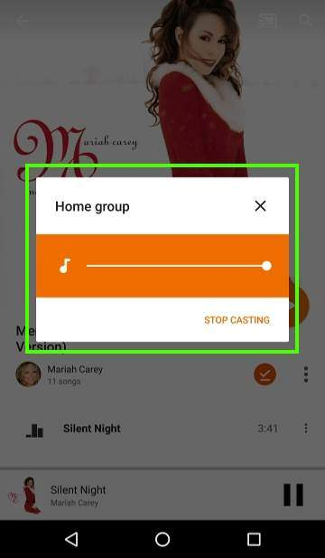 How to use Chromecast Audio multi-room group playback: 7_casting_to_group