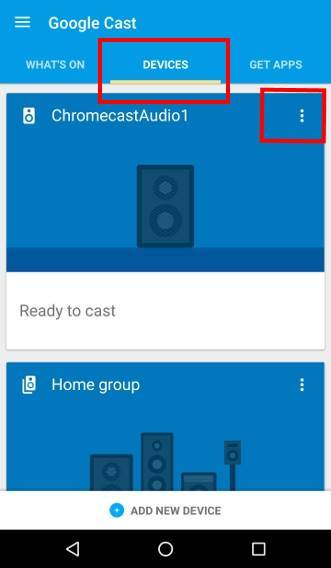 join Chromecast Preview Program