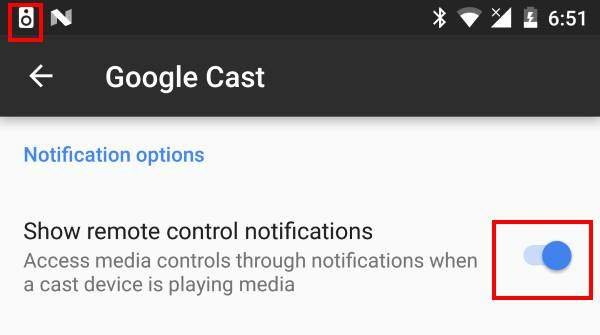 disable Google Home and Chromecast casting notification