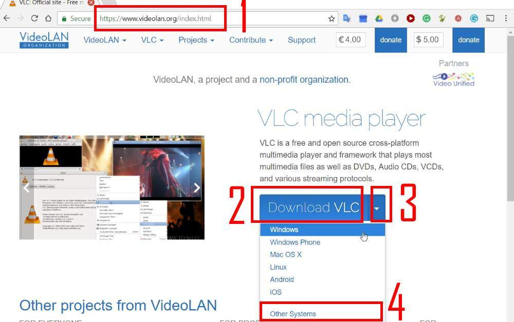 How to use VLC media player on PC to stream music and video